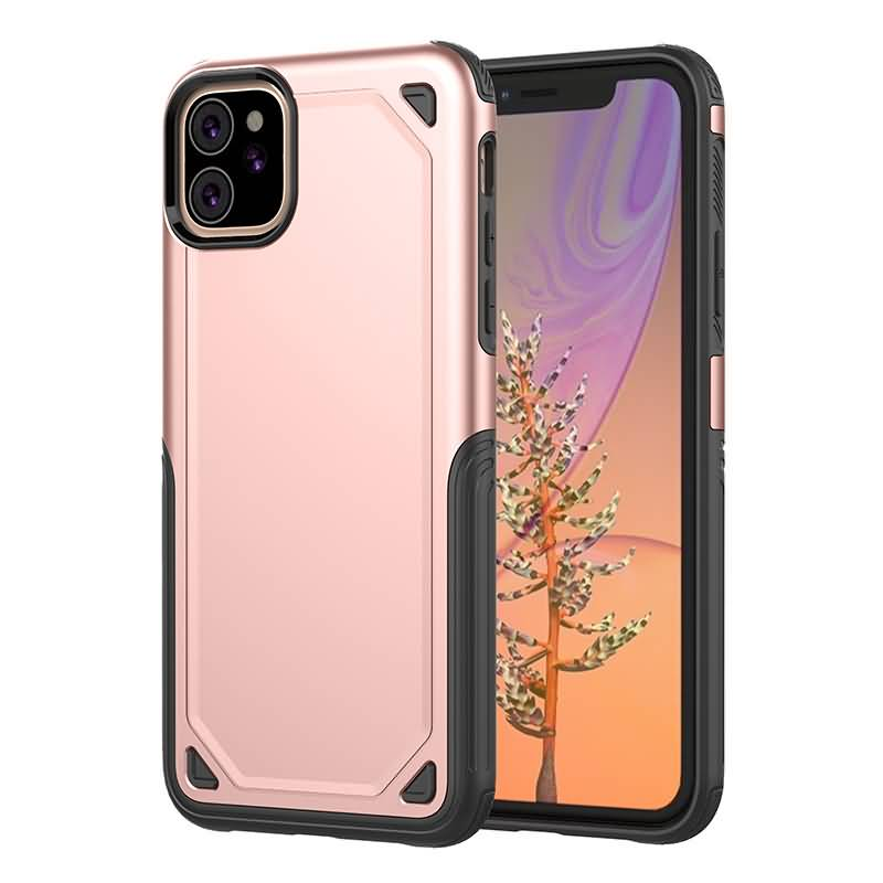 iPhone 11 Pro Max Shockproof Hybird Armor Case | Rosegold